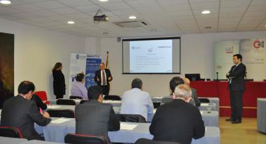 Presentación conjunta Winshuttle-3aside en la UEI.