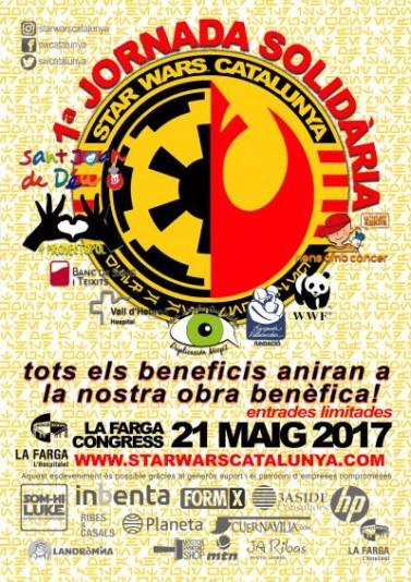 Jornada Solidaria de Star Wars Cataluña